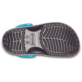 Crocs Classic Graphic Lapset sandaalit , musta/monivärinen